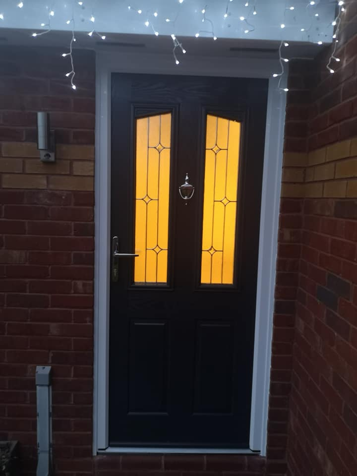 Front door fitted in drayton